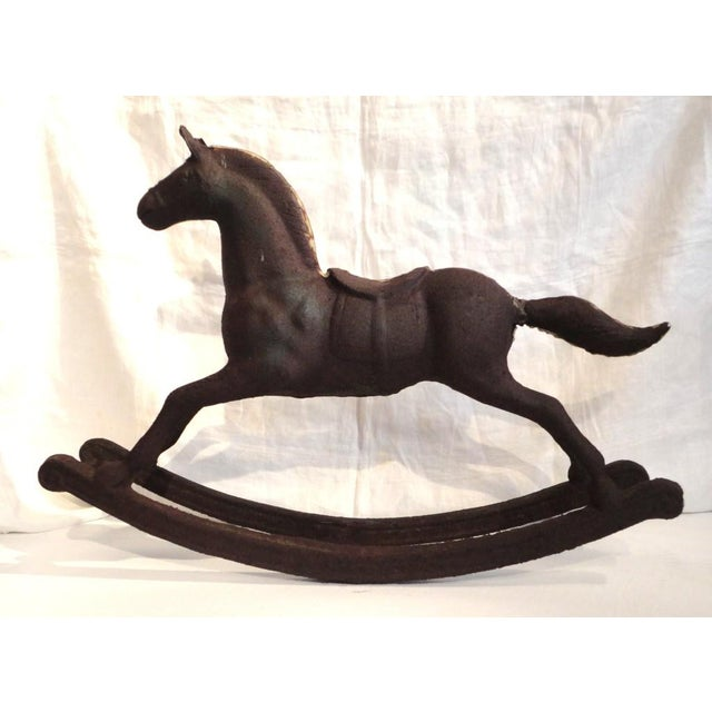 distinguished monumental 19th century cast iron carousel child s