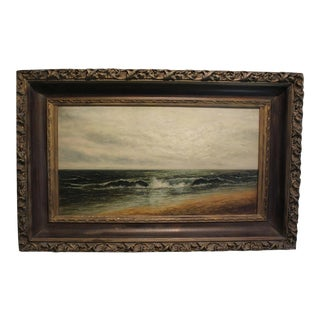 19th Century Traditional Painting of Seascape by Ida Squire Gutsell