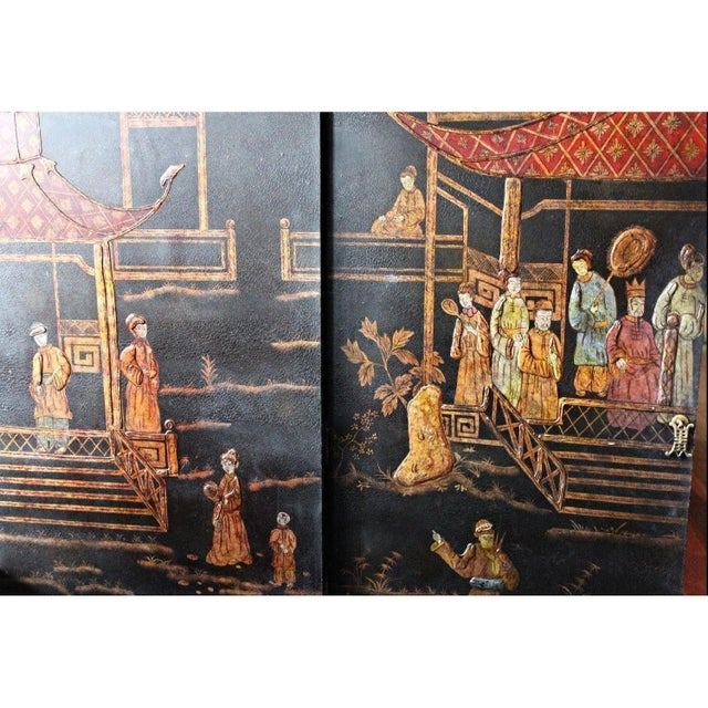 Vintage Asian Chinoiserie Cabinet - Image 3 of 9