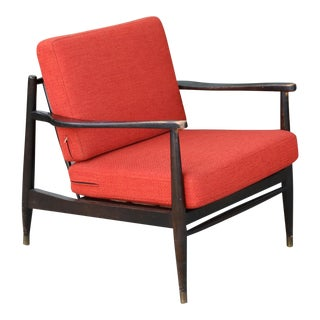 1970s Vintage Single Lounge Chair For Sale