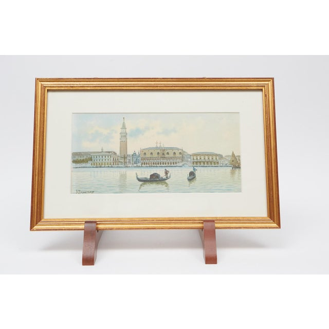 Watercolors of Venice - A Pair For Sale - Image 4 of 4