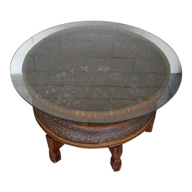 Boho Style Coffee Table - Image 2 of 7