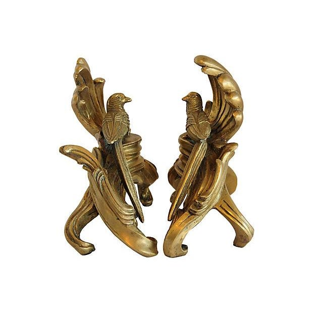 Vintage Brass Pheasant Bookends - A Pair - Image 2 of 5