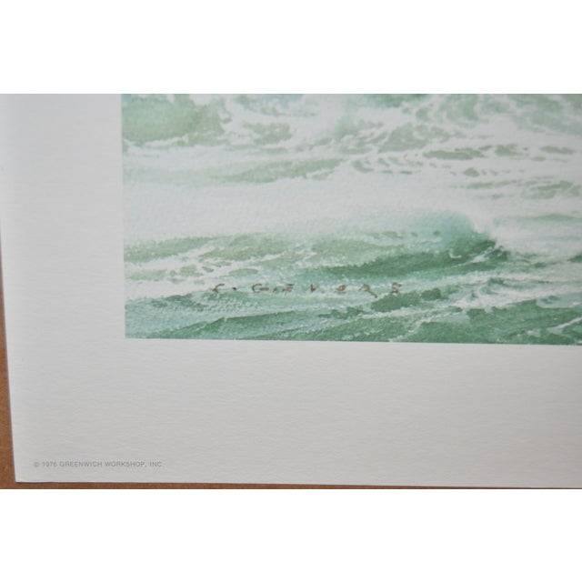 Carl G. Evers Vintage Tropical Storm Print For Sale - Image 4 of 5