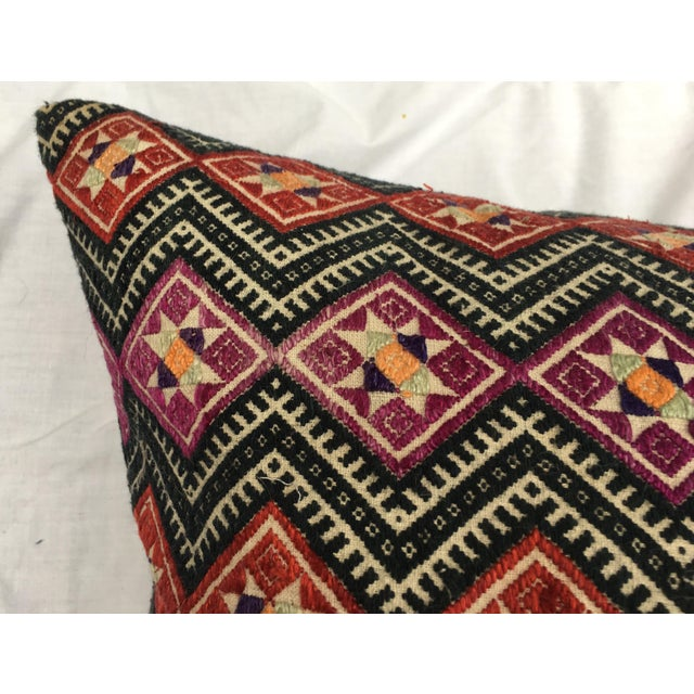 Antique Dragon Back Wedding Quilt Pillow - Image 7 of 7