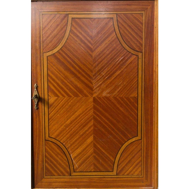 French Cabinet With Marble Top For Sale In New York - Image 6 of 12