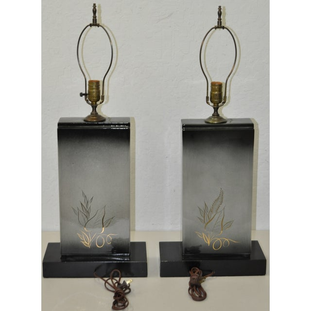 Sascha Brastoff Mid-Century Modern Lamps - Image 10 of 10