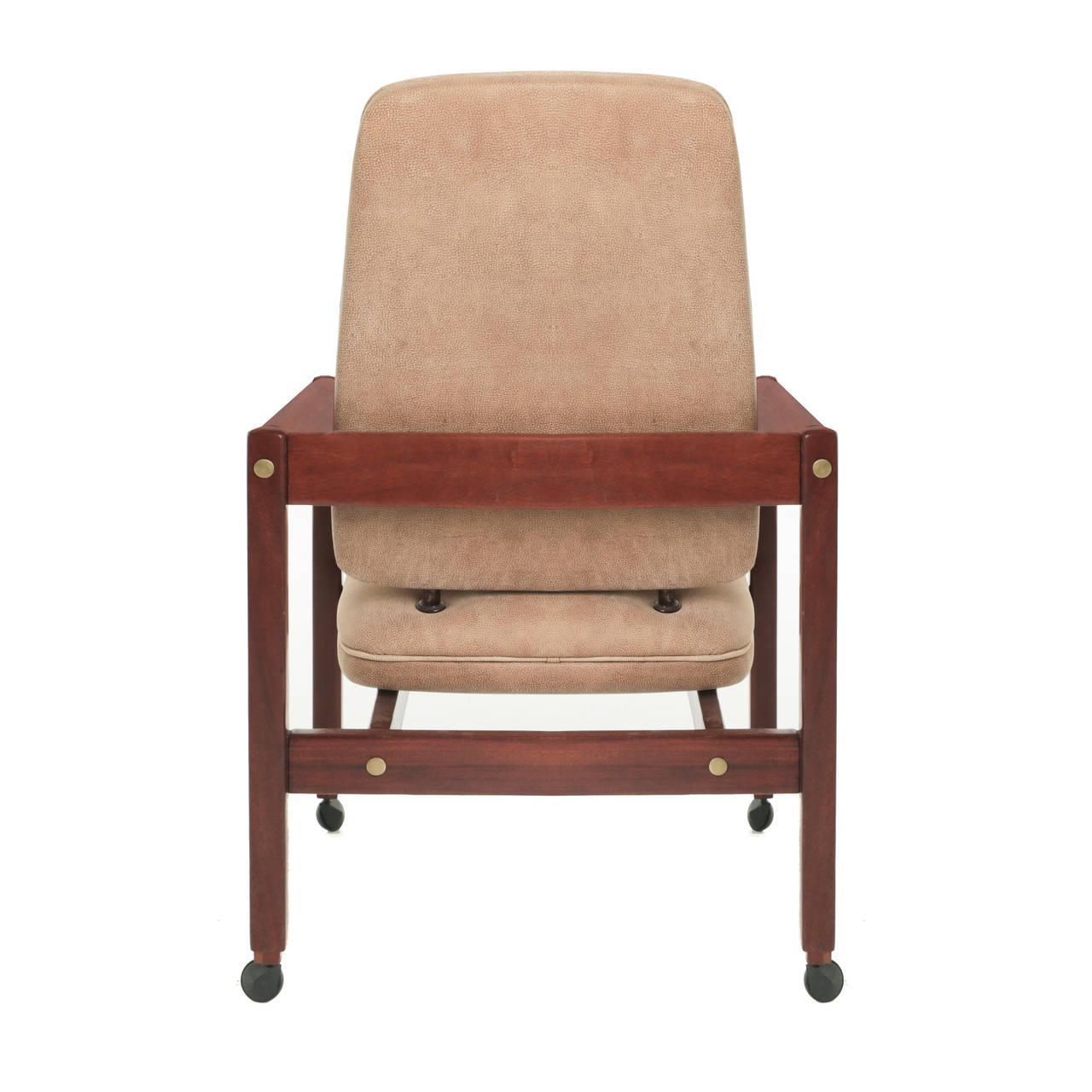 Mid-Century Modern Sergio Rodrigues  Kiko  Desk Chair - Image ...  sc 1 st  Chairish & Mid-Century Modern Sergio Rodrigues