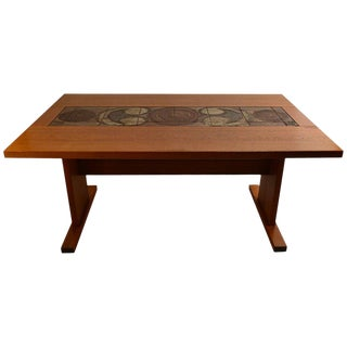 1960s Danish Ox Art Drop-Leaf Dining Table For Sale