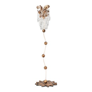 Venetian Medium Candlestick Holder in our Whimsical Style For Sale