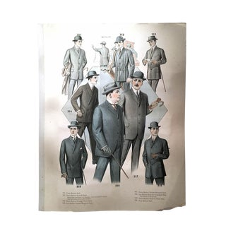 Men's Clothing Catalog II For Sale
