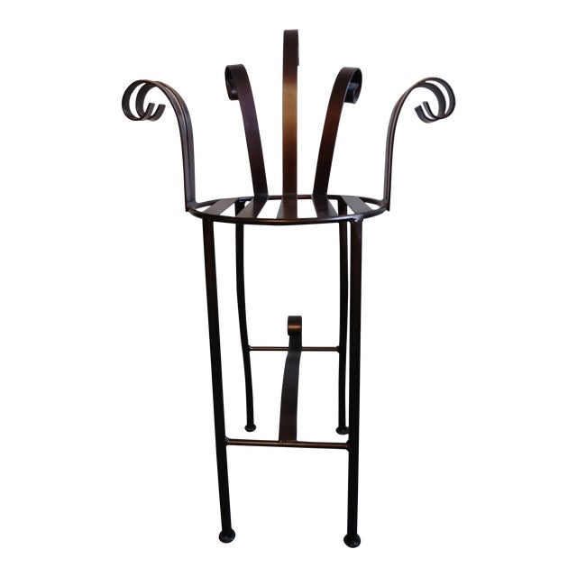 Decorative Anodized Metallic Copper Chair For Sale