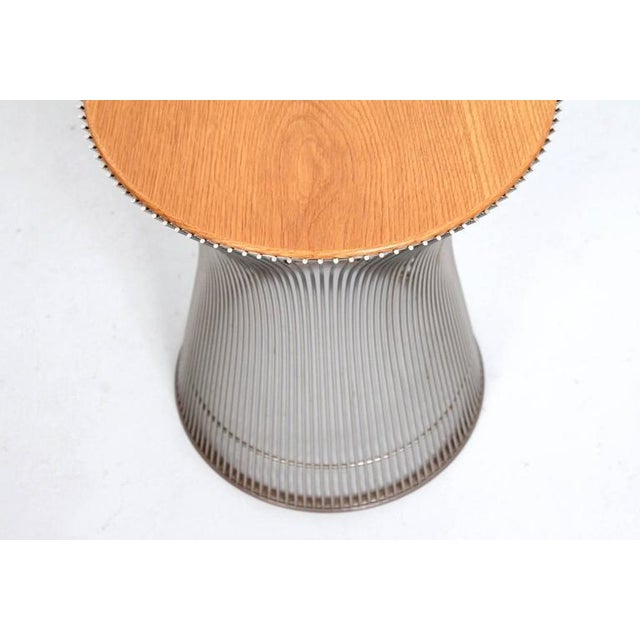 Pair of Side Tables by Warren Platner for Knoll For Sale In Boston - Image 6 of 11