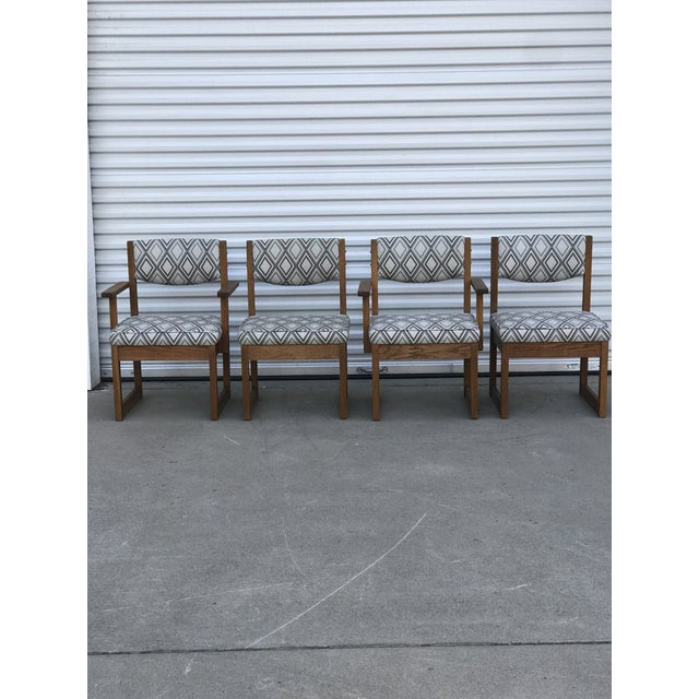 Mid Century Drexel Heritage Dining Chairs- Set of 4 For Sale - Image 10 of 11