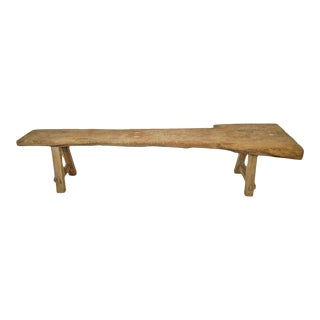 Old Farm Elm Work Bench For Sale