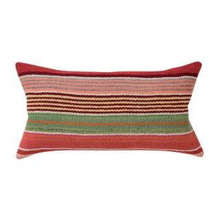 Alpaca Wool Striped Peruvian Pillow