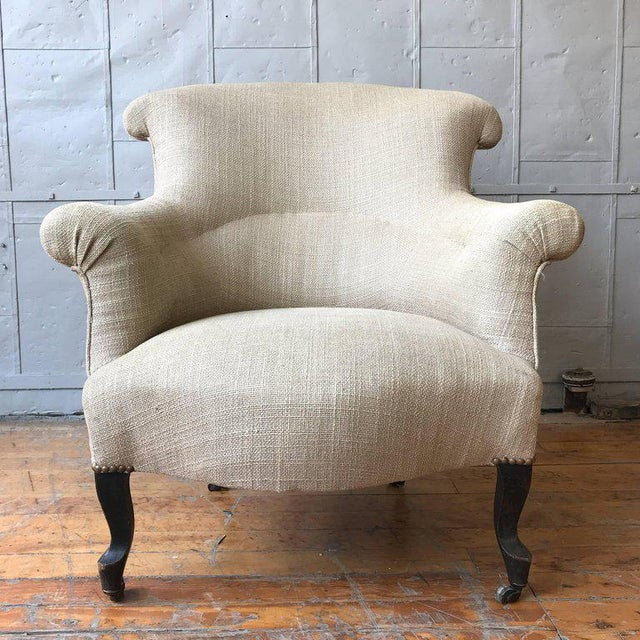 Pair of Scrolled Napoleon III Armchairs - Image 2 of 10