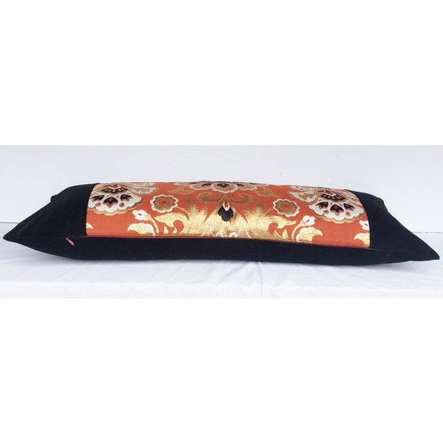 Handmade Japanese Obi Pillow - Image 3 of 3