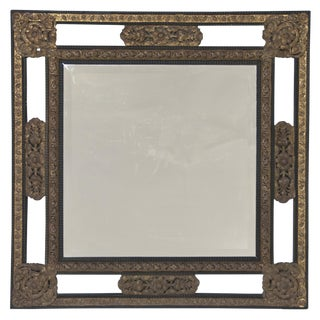 Late 19th Century Classic Dutch Baroque Style Mirror For Sale