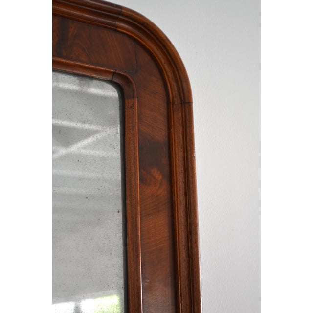 Mid 19th Century Louis Philippe Style Wall Mirror For Sale In West Palm - Image 6 of 10