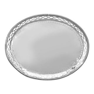 Hester Bateman Silver Footed Dish