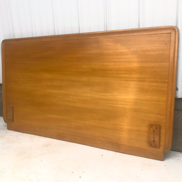 Drexel Mid-Century Full Size Headboard by Edward Wormley for Drexel For Sale - Image 4 of 12