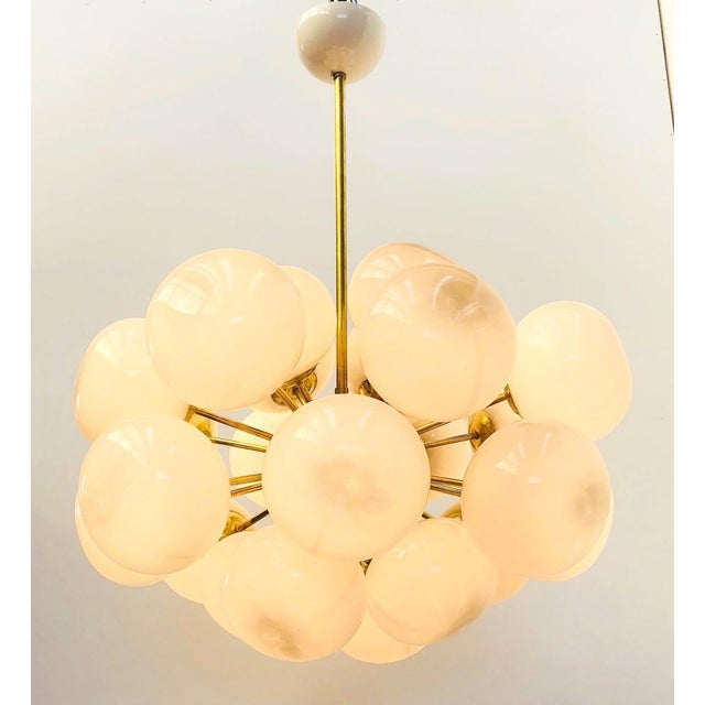 Fabio Ltd Ovale Sputnik Chandelier by Fabio Ltd For Sale - Image 4 of 12