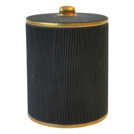 Image of Black and Gold Bathroom Accessories