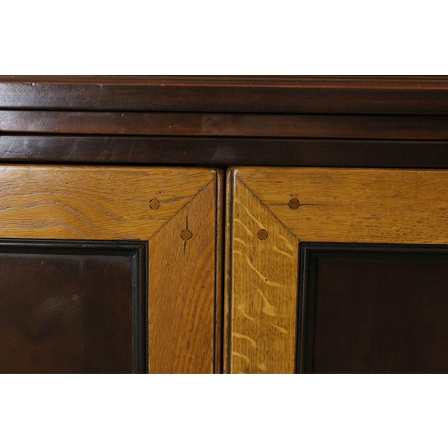 Grange French Cherry Louis Philippe Style Bookcase Cabinet For Sale - Image 12 of 13