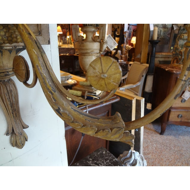Late 19th Century 19th Century Italian Neoclassical Sconces, Pair For Sale - Image 5 of 10