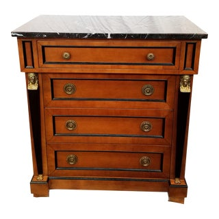 1980s French Empire Neo-Egyptian Chest of Drawers