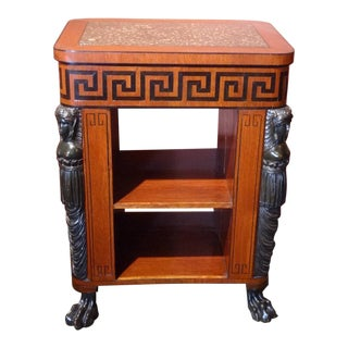 Regency Period Center Table Bookcase