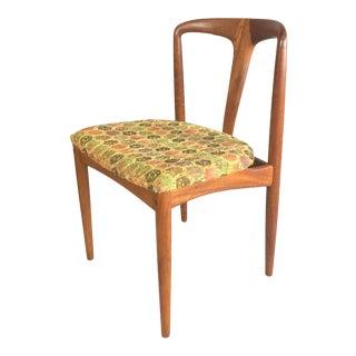 1960s Vintage Danish Modern Johannes Andersen Juliane Chair For Sale