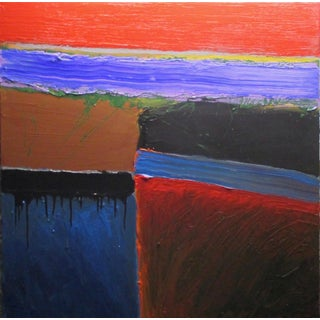 Contemporary Abstract by Stanley Dean Edwards Painting For Sale