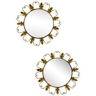 Convex Mirrors from Belgium - A Pair