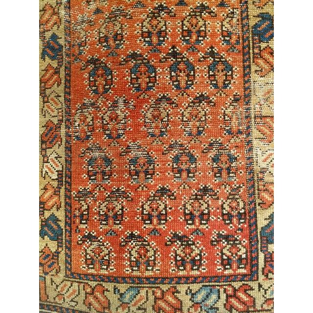 19th Century Kazak Rug 3′1″ × 5′6″ For Sale - Image 4 of 13