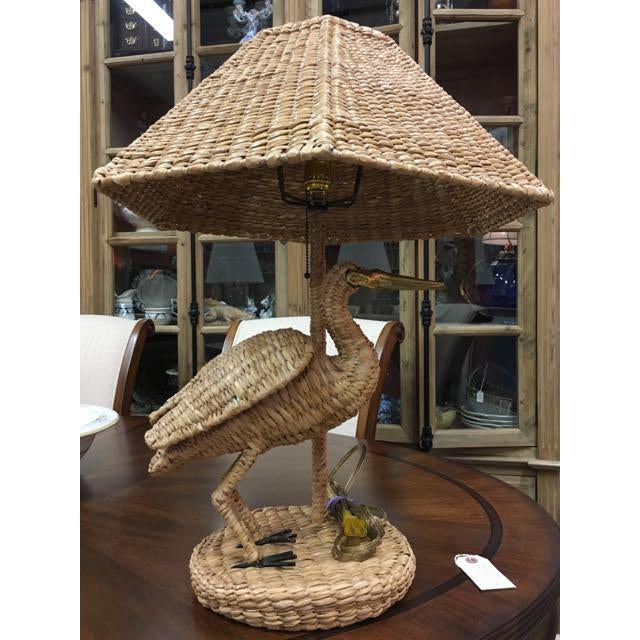 Mario Lopez Torres for Tzumindi Egret Table Lamp For Sale In Tampa - Image 6 of 13