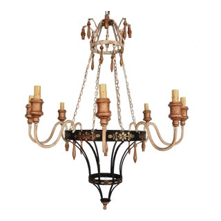 French Country Chandelier For Sale
