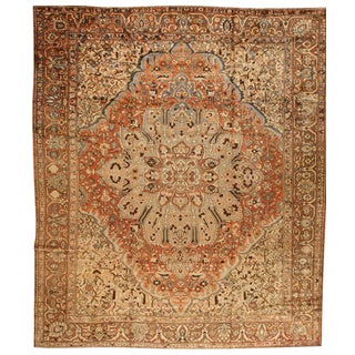 Antique Persian Bakhtiari Carpet For Sale
