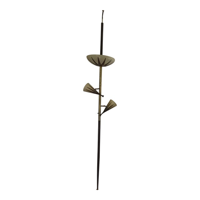 Wolfe Lighting Tension Pole Lamp - Image 1 of 9