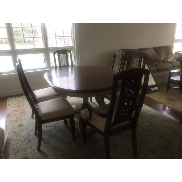 Blonde Mahogany Dining Set - Image 11 of 11