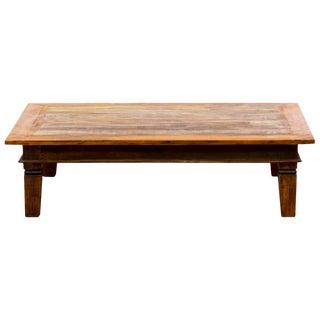 Handmade Reclaimed Peroba Rosa Wood Large Coffee Table