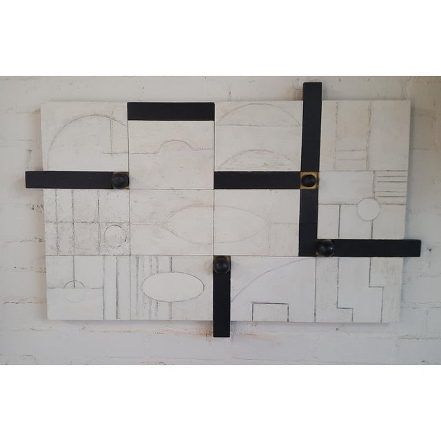 Modern Frieze Three-Dimensional Wall Art Paul Marra For Sale - Image 9 of 9