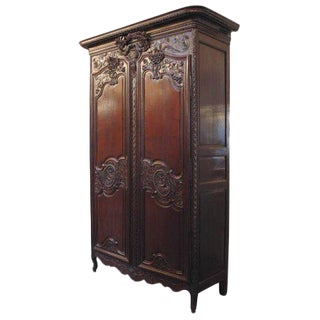 French Wedding Armoire For Sale
