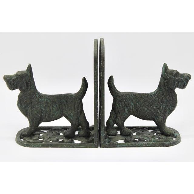 Vintage West Highland Terrier Dog Bookends For Sale - Image 10 of 10