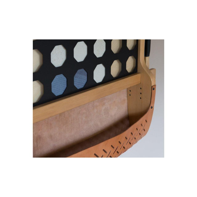 Mid-Century Modern TGM Connect 4 Wall Mount Game For Sale - Image 3 of 6