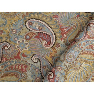 Boho Chic Brunschwig & Fils Torino Paisley Woven Designer Fabric by the Yard Preview