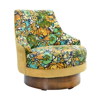 Retro Flower Power Chair