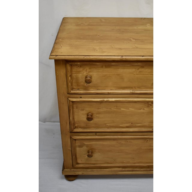 Early 21st Century Pine Chest of Six Drawers For Sale - Image 5 of 8