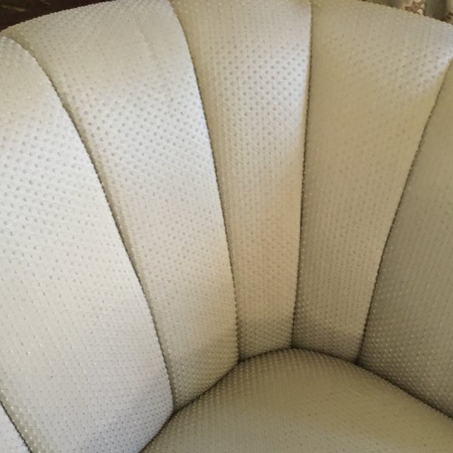 French Style Settee With Fringe - Image 7 of 9